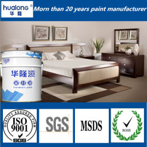 Hualong Anti-Yellow Curtain Shinning Finish Coat / Top Coat pictures & photos