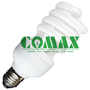 High Quality CFL Lighting T4 Half Spiral 20W Energy Saving Lamp pictures & photos