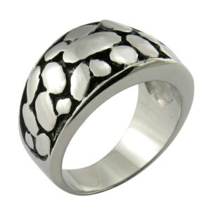 Mold Black Polished Rings Men Ring Custom Jewelry pictures & photos