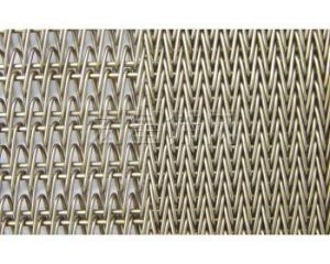 Superimposed Mesh Belt of Stainless Steel