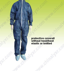 Popular Design Non-Woven Coverall (LY-NC-dB) pictures & photos