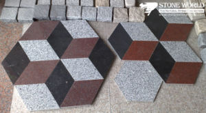 Newstar Granite Interlock Stone Paver Tiles for Outdoor (IL05) pictures & photos