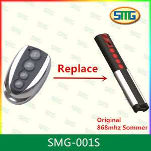 Sommer 868MHz Replacement Garage Door Opener Remote Control 4 Button 868MHz Gate Transmitter Rolling Code