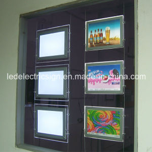 Acrylic Board for Sign Making with Picture Frame pictures & photos