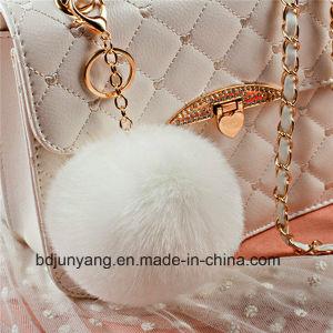 Wholesale Fake Rabbit Fur Pompoms pictures & photos