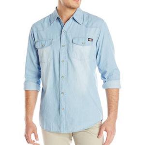 2016 Denim Shirt Men 100% Cotton Long Sleeve Jeans Shirt