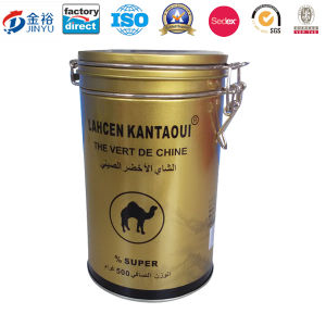 Round Shaped Metal Locked Tea Packaging pictures & photos