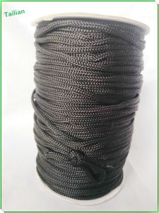 Cheap 5 mm Black Braid PP Rope pictures & photos