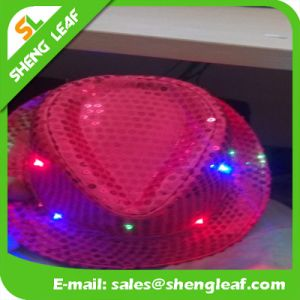 Multple Color Flashing Light up Fedora Caps pictures & photos