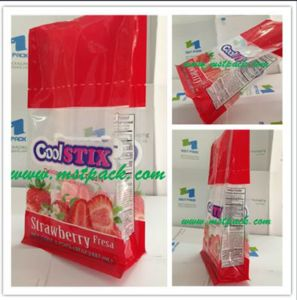 Flat Bottom Clear Plastic Bags; Snack Food Bags pictures & photos
