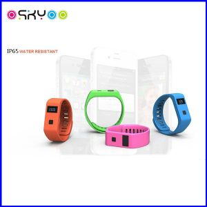 Multifunction Sleeping Monitor Bluetooth Wristband Smartband pictures & photos