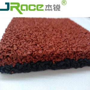 Iaaf Sandwich Rubber Floor for Athletic Track pictures & photos