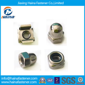 Stock Stainless Steel Square/Weld/Wing/Flange/Cap/Cage/Nylon Lock Nut (DIN315 DIN928 DIN929 DIN1587 DIN985 DIN6923) pictures & photos