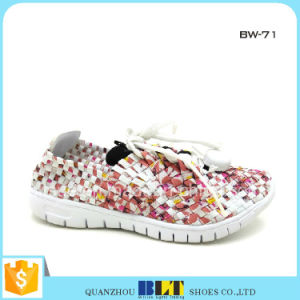 2016 Latest Ladies High Heel Woven Shoes pictures & photos