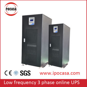 Low Frequency 10kVA to 60kVA Three Phase Online UPS Power Supply