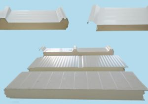 Economical Hot Sale Reused Eneergy-Saving PU Sandwich Panel pictures & photos
