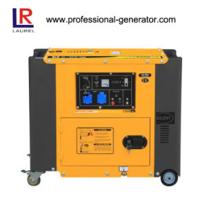 5kw Silent Portable Electric Diesel Generator for Home pictures & photos