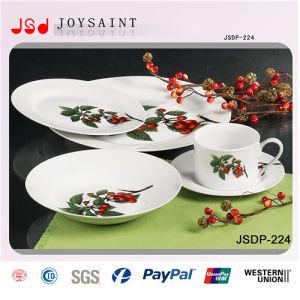 12PCS Square Shape Porcelain Dinnerware pictures & photos