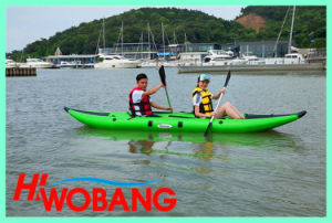 High-Quality Inflatable Rubber Kayak, Whitewater Canoe pictures & photos