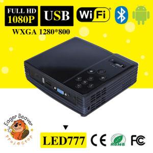 Wxga 1280X800 DLP 0.45tp 500 ANSI Lumens LCD Projector