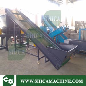 Plastic Rubber Conveyor Belt with Metal Detector for Waste Plastic Recycling pictures & photos