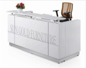 Cheap Used Reception Desk Dimensions Shop Counter Design (SZ-RTT002) pictures & photos