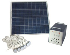 Plug & Play Portable 300c Solar Lighting System