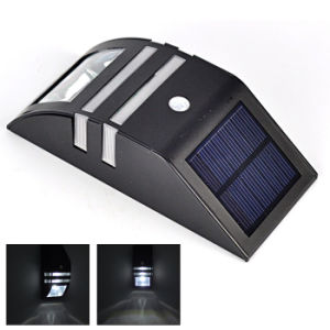 Outdoor Lighting Products Durable Stainless Steel Solar Wall Light PIR Motion Sensor Garden Security Light Solar Lamp Pathway Light pictures & photos