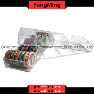 Transparent Acrylic Chips Case (YM-CT11) pictures & photos