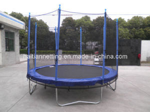 Blue Color Trampoline with Enclosure pictures & photos