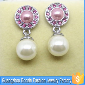 Fashion Women Custom Made Silver Pearl Earring Jewelry Wholesale pictures & photos