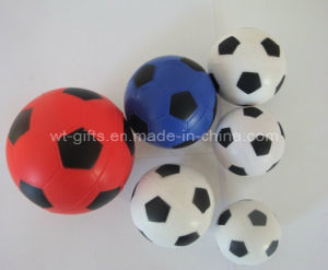 Football Soccer Custom PU Foam Anti Stress Ball