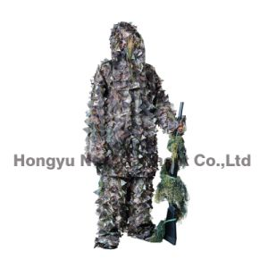Lightweight 3D Leaf Camouflage Suit for Hunting, Military (HY-C006) pictures & photos