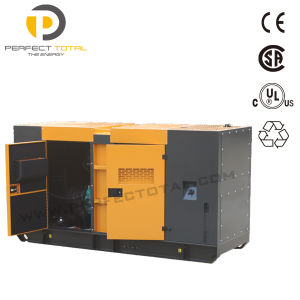 60kVA Isuzu Soundproof Diesel Generator Set pictures & photos