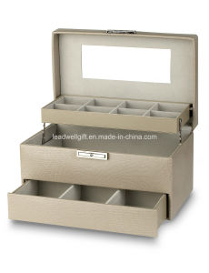 Large Rectangular Jewelry Box Storage Case pictures & photos