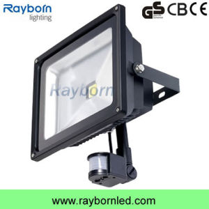 10W/20W/30W/50W PIR Sensor LED Flood Light for Outdoor Lighting pictures & photos
