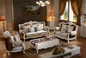 American Country Style Living Room Furniture - French Sofa and Chair Furniture pictures & photos