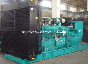 1100kw 1375kVA Standby Power Cummins Industrial Diesel Generator pictures & photos