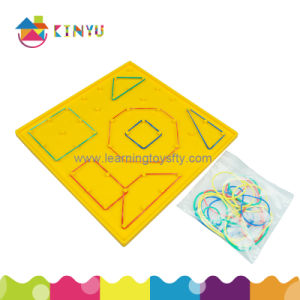 Preschool Toys Plastic Lacing Attribute Buttons for Kids Education pictures & photos