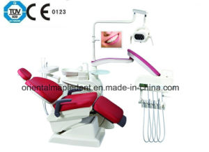 CE Approved Integral Dental Unit, Dental Chair with Operating LED Lamp pictures & photos