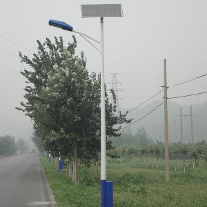 8m Pole 45W Solar Street Light with Factory Price pictures & photos