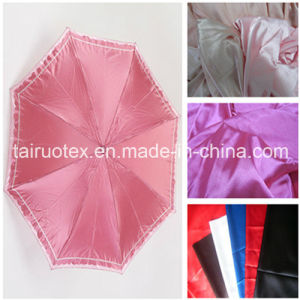 100% Poly Satin with Waterproof for Umbrella Fabric pictures & photos
