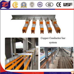 Power Distribution Single Pole Safety Conductor Copper Bar pictures & photos