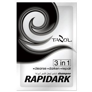 Tazol Rapiddardk Black Hair Color Shampoo pictures & photos