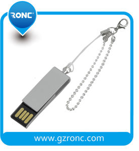 Full Capacity Mini USB Stick with Keychain pictures & photos