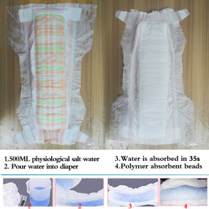 Disposable Baby Diapers with 3D Leak Prevention (L) pictures & photos