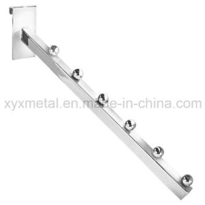 Waterfall Chrome Plated Gridwall Display Hooks with 6 Balls pictures & photos