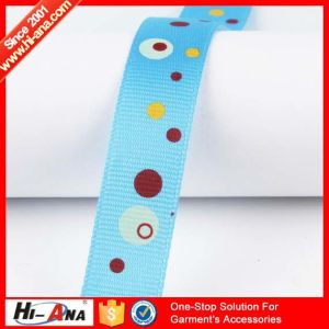 Trade Assurance Hot Selling Satin Ribbon with Printed pictures & photos