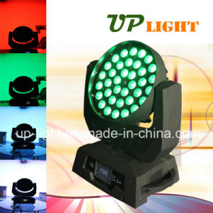 36*10W RGBW Zoom Wash 4in1 LED Moving Head pictures & photos