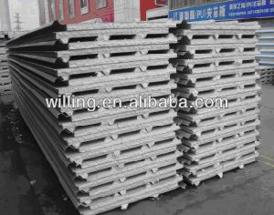 High Quality EPS Sandwich Panel Production Line pictures & photos